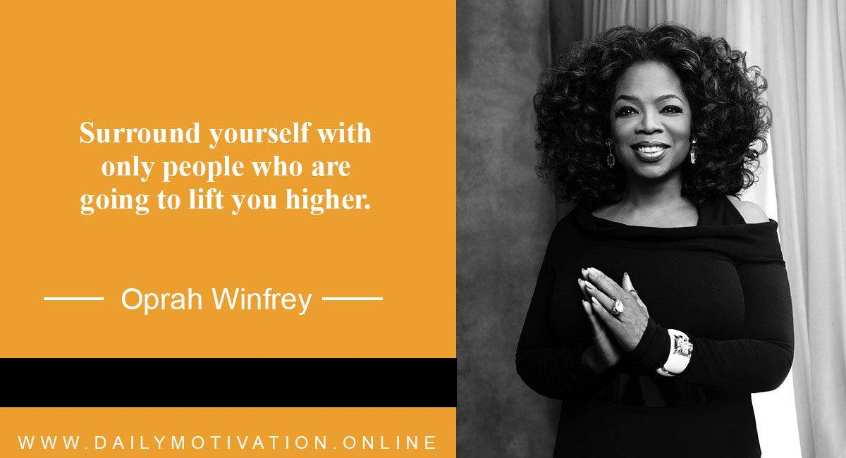 Oprah Winfrey Motivational Quotes