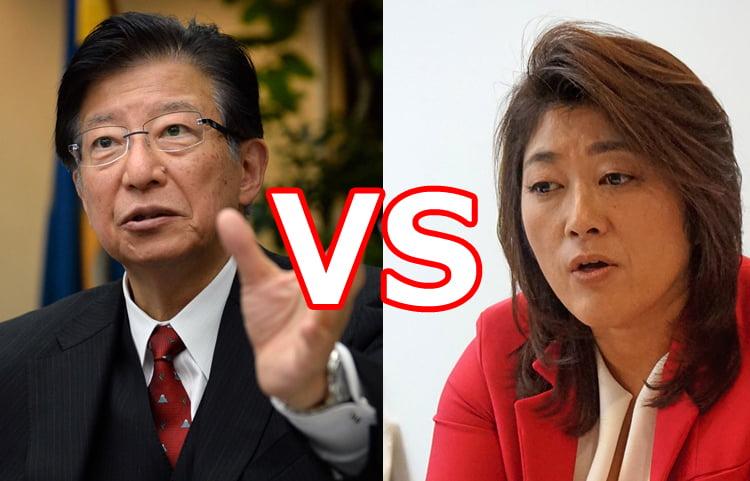 溝口紀子の政策や経歴は?川勝平太と一騎打ちの静岡県知事選挙の行方は?
