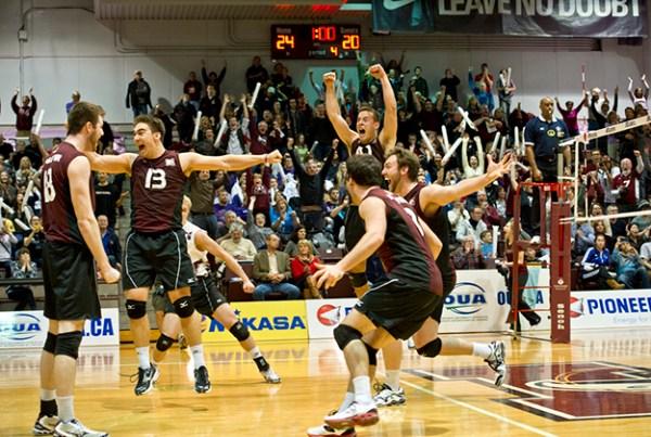 Men's volleyball team advances to CIS championship tourney ...