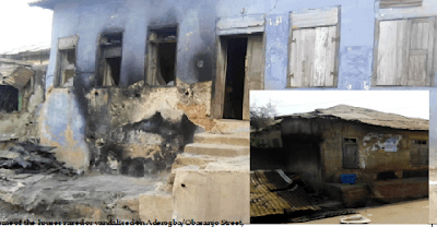 Another unrest in Ibadan as houses are razed, shops looted