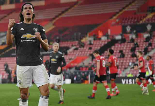Burnley vs Man United: Solskjaer gives update on Edinson Cavani