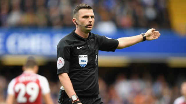 EPL referee, Michael Oliver reveals his best decision which didn't favour Man Utd