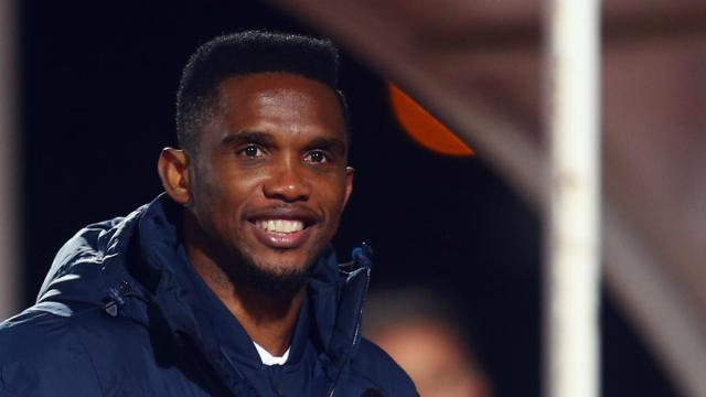 Eto'o names player that will replace Messi at Barcelona