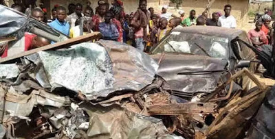 Sad! Truck crushes couple to death in Ogun