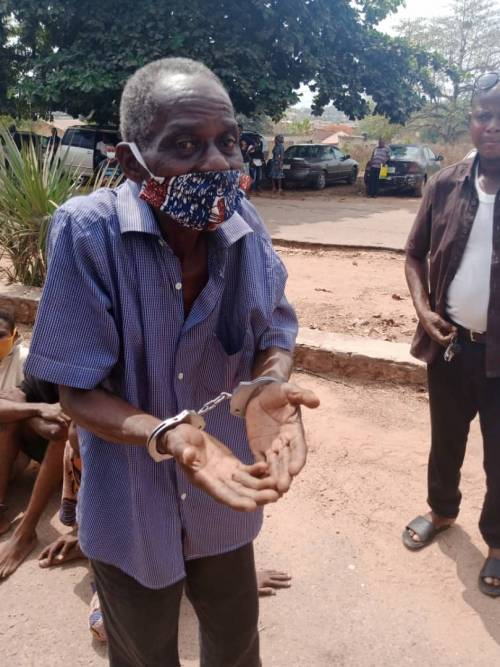 72-year-old pastor arrested for allegedly defiling 13-year-old girl
