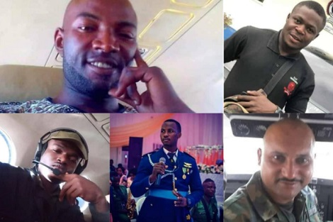 Air Force releases names of victims of military plane crash