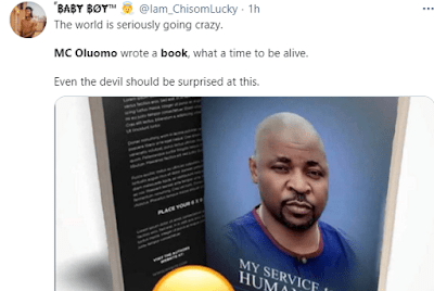 """""""Dem don see us finish for Lagos"""" Nigerians react to Mc Oluomo allegedly releasing a book"""