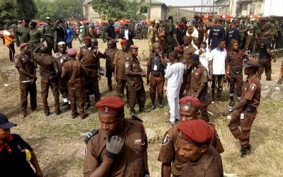 Four Amotekun operatives hospitalized as hoodlums attack security outfit in Ibadan