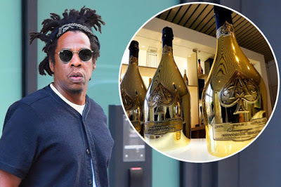 Jay-Z sells stake in champagne brand to luxury giant LVMH