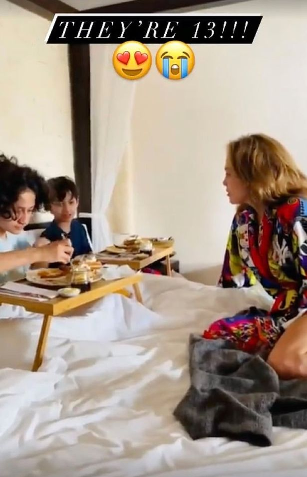 Jennifer Lopez sobs with pride on her twins 13th birthday