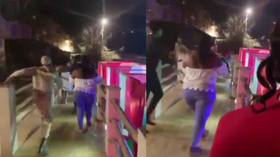 Moment man catches his wife with another man in a hotel on Valentine's day