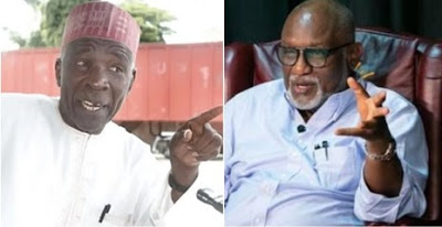 """""""Monster, dysfunctional misfit and psychotic sociopath"""" – FFK carpets Galadima for calling Akeredolu an Illiterate"""
