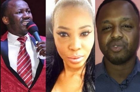 Pastor fighting Apostle Suleman says he will expose how they got Stephanie Otobo to apologise over s.e.x scandal
