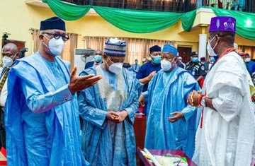 Photos: Northern Governors meet Dapo Abiodun over farmer-herder conflicts