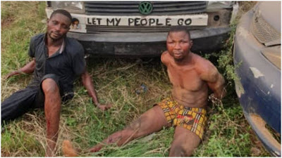 Police arrest two as armed robbers engage them in gun battle on Lagos-Ibadan expressway