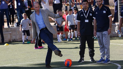 Prince William calls for an end to 'despicable' racist abuse of footballers