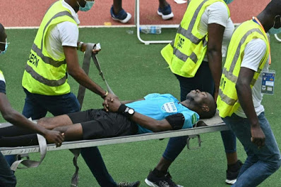 AFCON qualifier: Ghanaian referee collapses during Ivory Coast vs Ethiopia