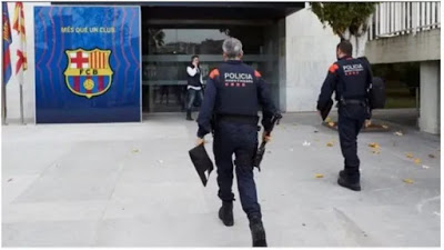 Police raids Barcelona, arrests CEO Oscar Grau, Ex-President Bartomeu, others