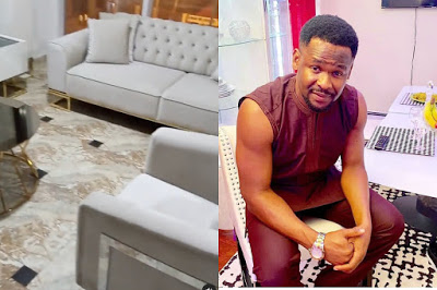 Zubby Michael flaunts living room, says his furniture is worth N6.3 million [video]