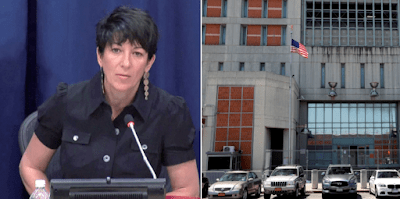 Ghislaine Maxwell accused of procuring girls for Jeffrey Epstein turns her cell into a mess – she doesn't flush after using it