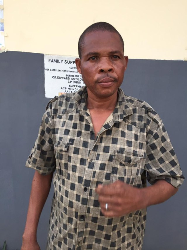 Pictured! Police arrest prophet for allegedly raping 17-year old church member in Ogun