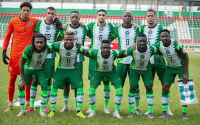 Super Eagles moves up to 32 in FIFA ranking