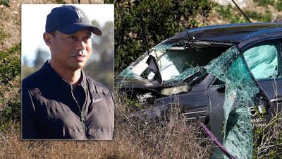 Tiger Woods crash was due to 'unsafe' driving speed