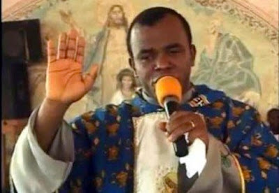Father Mbaka confesses taking contractors to Buhari