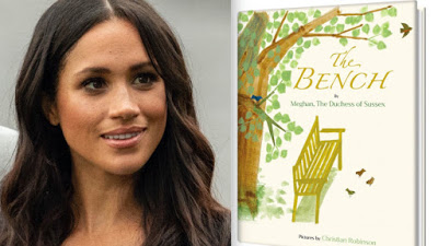 """Meghan Markle to publish children's book — """"The Bench"""""""