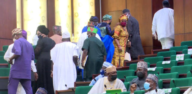 Drama as PDP Reps stage walkout from plenary over Twitter ban