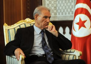 Former Tunisian Finance Minister Houcine Dimassi resigned on 27 July, following a disagreement with the policies of the government led by Islamist Prime Minister Hamadi Jebali, an official said (photo: AFP / Fethi Belaid)
