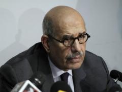 Al-Nour spokesman slams ElBaradei over speech. (AFP / FILE PHOTO / MAHMUD HAMS)