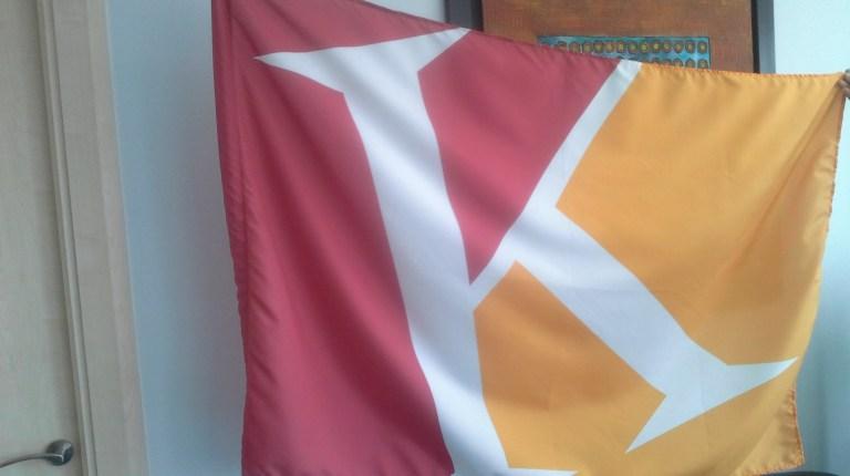 The Kidzania flag (Photo by Mohamed Salah)