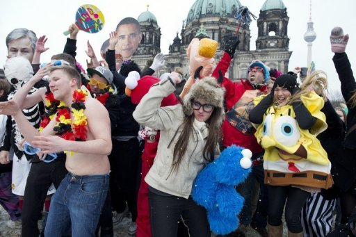 The Harlem Shake dance originates from Harlem, New York. It became an online trend in February 2013 after a YouTube video of a group dancing the Shake went viral. (File Photo) (AFP\Photo)