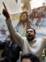 Sectarian tensions are high in Egypt, which is home to the region's largest Christian minority, with violence occasionally flaring between Muslims and the Coptic Christians. (AFP Photo)