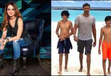 'Best Dad In The World': Sussanne Khan's Birthday Wish For Hrithik