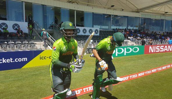 انڈر 19 ورلڈ کپ: سیمی فائنل میں پاکستان کو بھارت سے عبرت ناک شکست