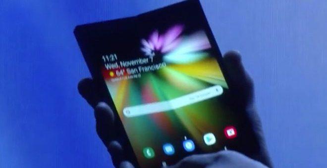 سام سنگ ایک بار پھر ایپل پر برتری لے گیا، پہلا فولڈنگ موبائل متعارف