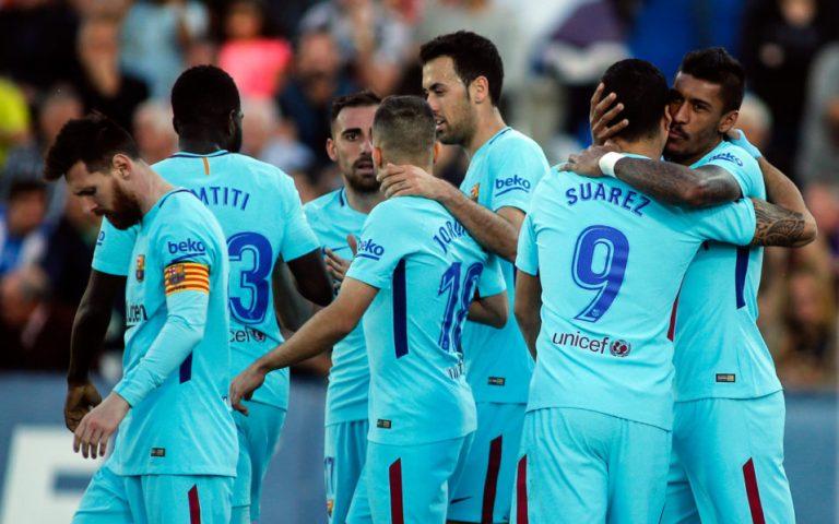 Barca book Cup semi-final spot as Coutinho makes debut
