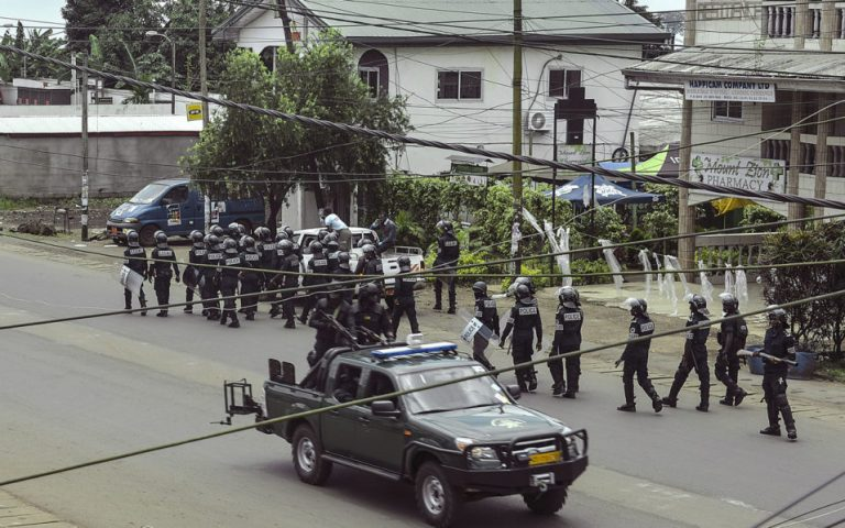 Four Cameroon soldiers killed in restive anglophone region