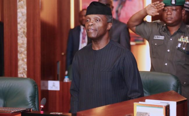 Osinbajo, Nigerian governors holding NEC meeting over new Minimum Wage