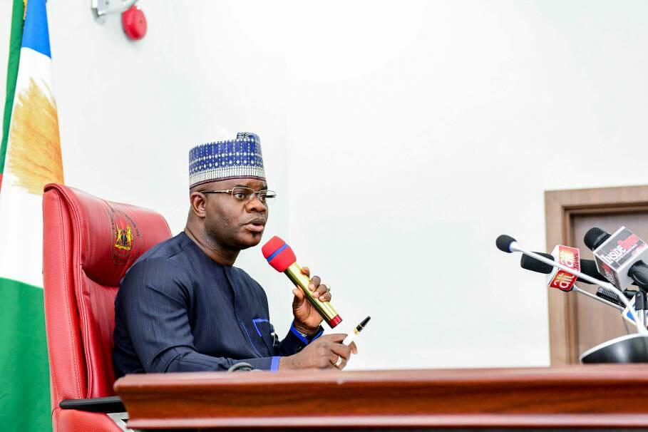 Governor Yahaya Bello of Kogi State