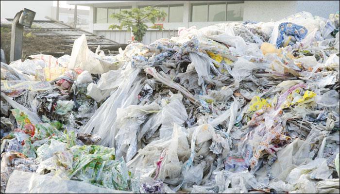 Katsina recycles used polythene bags to produce interlock bricks