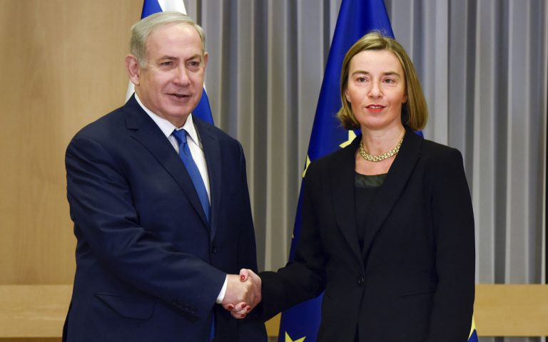 EU's Mogherini condemns 'all attacks on Jews everywhere'