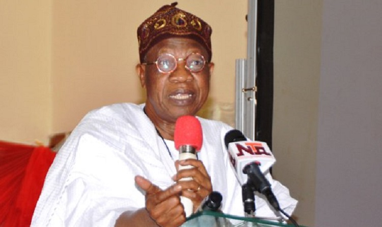 Buhari's gov't not averse to media criticism – Lai Mohammed
