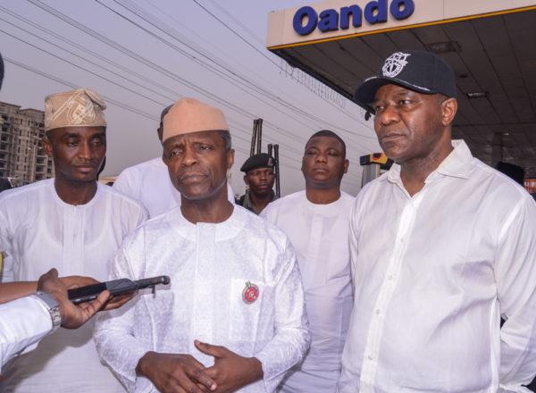 Buhari working hard to end fuel scarcity, Osinbajo says