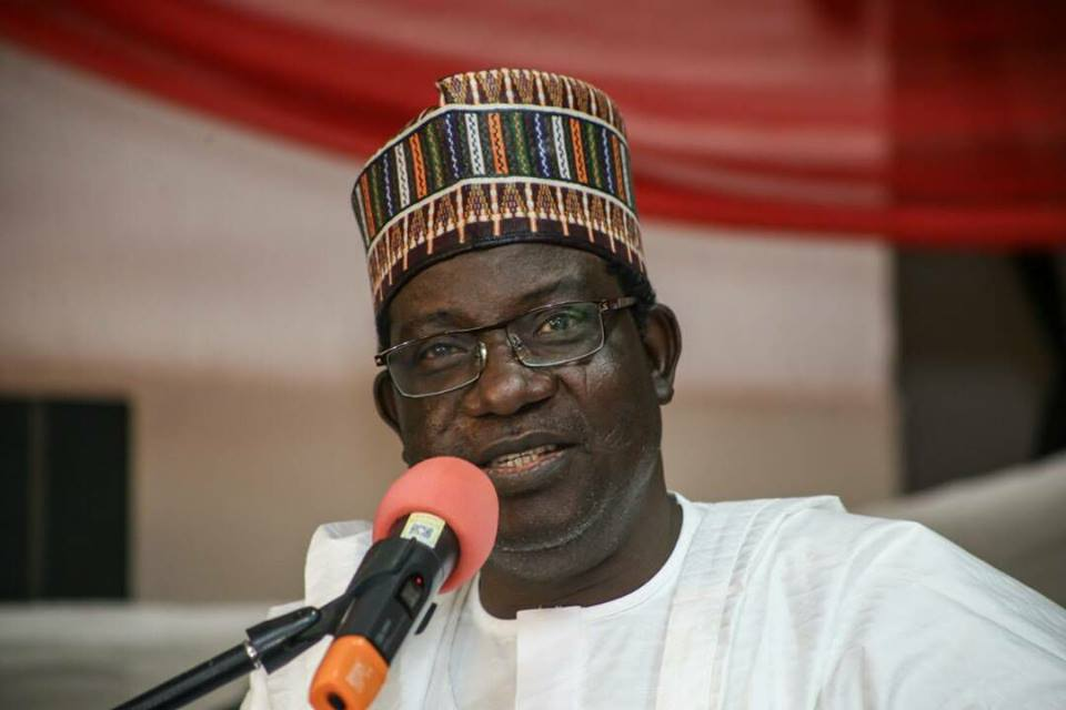 Gov. Simon Lalong of Plateau State