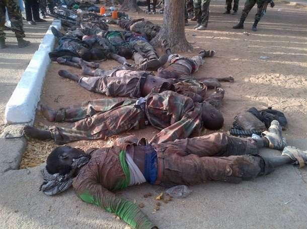 BREAKING: Nigerian military kills 57 Boko Haram terrorists, loses 3 soldiers