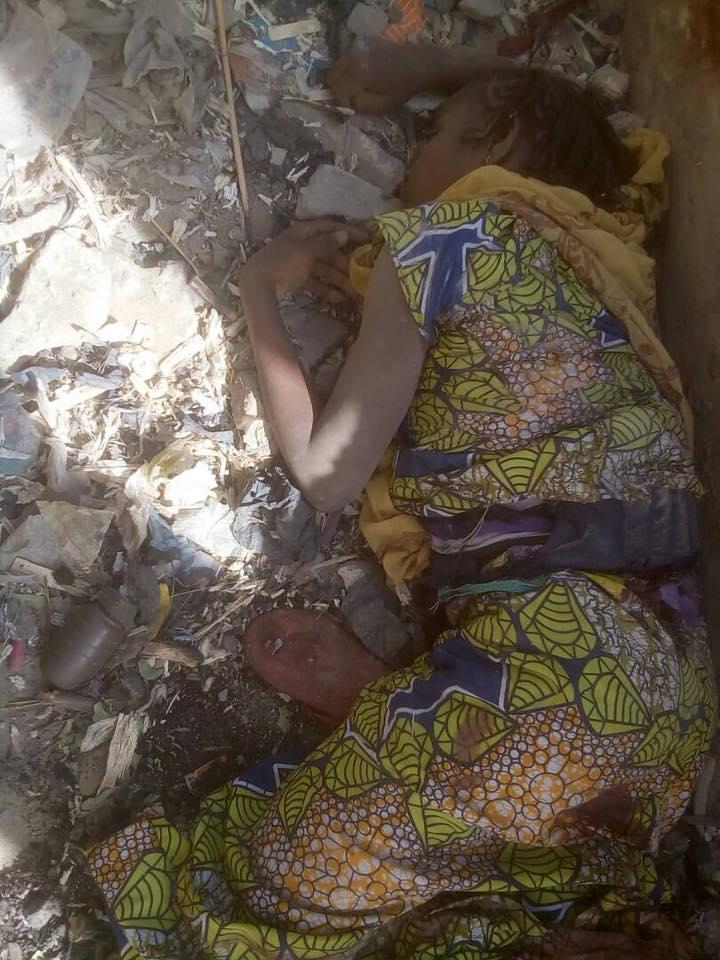 Female suicide bomber kills self