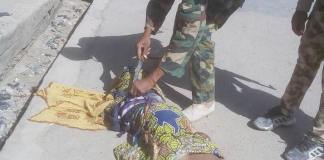 FILE: Troops of Operation Lafiya Dole deployed around Gamboru Ngala have successfully averted what would have been a major devastating suicide attack carried out by three female Boko Haram terrorists against innocent citizens in Gamboru town in Gamboru Ngala Local Government Area of Borno State in the early hours of Tuesday, January 9, 2018.